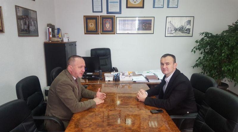 Радни састанак са шефом пословнице ФЗО у Градишци