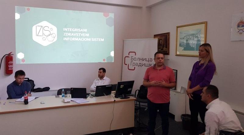 Састанак поводом презентације интегрисаног здравственог информационог система (ИЗИС)