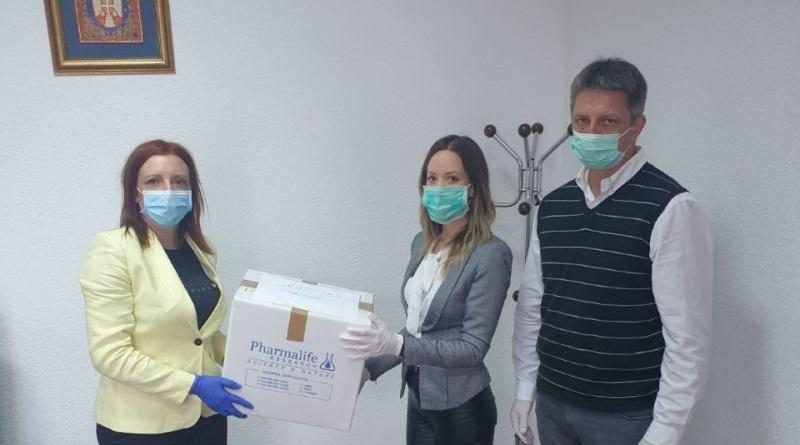 """ЈЗУ """"Дом здравља"""" Градишка добио донацију 240 маски"""
